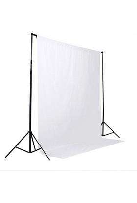 A+ KALİTE-white screen-beyaz fon perde(3 x 6 m) -% 100 pamuk