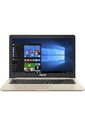 """Asus N580VD-DM425T Intel Core i7 7700HQ 8GB 1TB + 128GB SSD GTX1050 Windows 10 Home 15.6"""" FHD Taşınabilir Bilgisayar"""