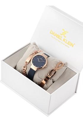 Daniel Klein 8680161584735 Kadın Kol Saati Bileklik Takı Seti
