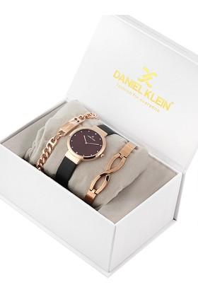Daniel Klein 8680161584742 Kadın Kol Saati Bileklik Takı Seti
