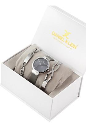 Daniel Klein 8680161584759 Kadın Kol Saati Bileklik Takı Seti