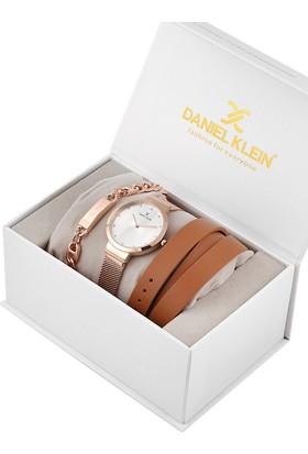 Daniel Klein 8680161585602 Kadın Kol Saati Bileklik Takı Seti