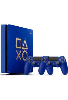 Sony Ps4 500Gb Konsol Days Of Play + 2. Ps4 Kol