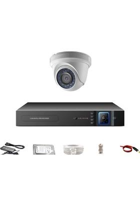 Promax 1312 1'Li 3 Megapiksel Sony Lens 720P Aptina Sensör Güvenlik Kamerası Seti
