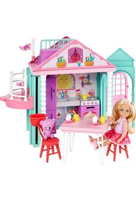 Barbie Chelsea'nin İki Katlı Evi DWJ50
