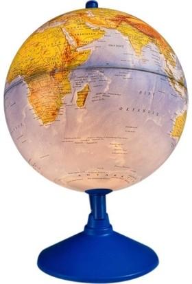 Gürbüz Işıklı Fiziki Yazılabilir Harita Dünya Küresi (Fiziki+Siyasi) 30cm 41303