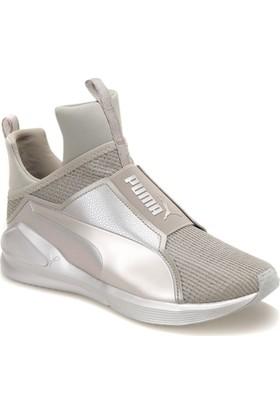 Puma Fierce Ep Gri Bej Kadın Sneaker