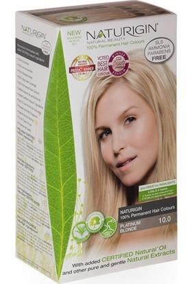 Naturigin Organik İçerikli Saç Boyası 10.0 Platin Sarısı