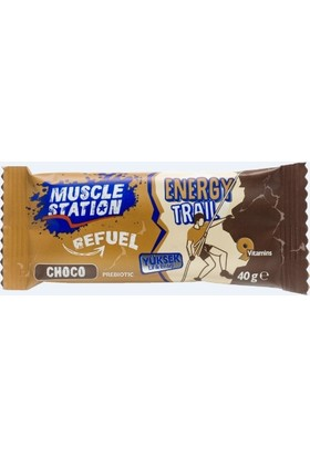 Muscle Station Energy Trail - Choco