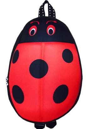 Adalinhome Uğur Böceği Çocuk Sırt Çantası