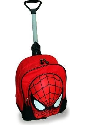 Adalinhome Çekçekli Çocuk Çanta Spiderman Örümcek Adam