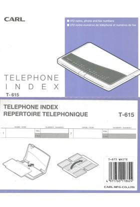 CarlCarl Otomatik T 615 Telefon Fihristi