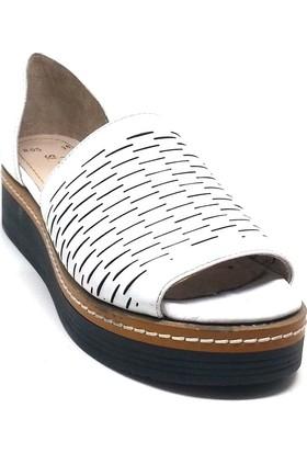 Shop And Shoes 128-805 Siyah Kadın Sandalet