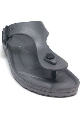 Shop And Shoes 066-3601 Bayan Terlik Gri