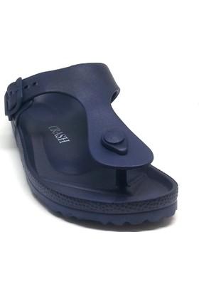 Shop And Shoes 066-3601 Bayan Terlik Lacivert