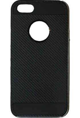 Case 4U Apple iPhone SE Hybrid Korumalı İnce Arka Kapak Gümüş