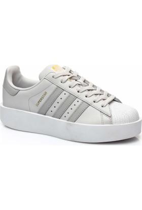 Adidas Superstar Bold Unisex Beyaz Sneaker Cq2824