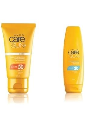 Avon Care Sun Yüz ve Vücut İçin Koruyucu Güneş Kremi Seti SPF 30