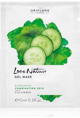 Oriflame Love Nature Salatalık Özlü Jel Maske 10 ml