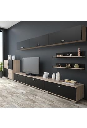 Yurudesign ABHDEK6 Tv Ünitesi Kapaklı Dolap