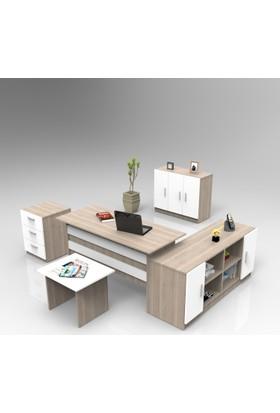 Yurudesign Vario ABCEF Ofis Büro Masa Takımı 3 Renk