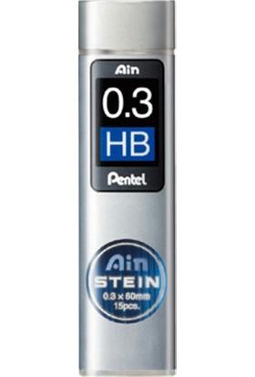 Pentel Min Hı-Polymer Aın Steın Kalem Ucu 0.3 Mm C273-Hb