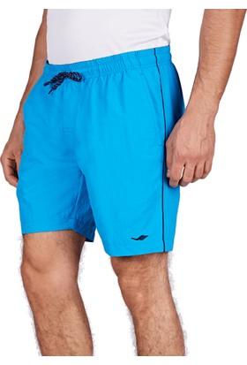 Lescon 18Y-1080 Mavi Erkek Deniz Şortu