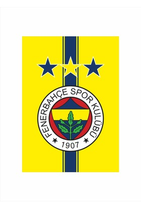 FenerBahçe Bayrağı 3 Yıldızlı ( FB )- Gönder Bayrak