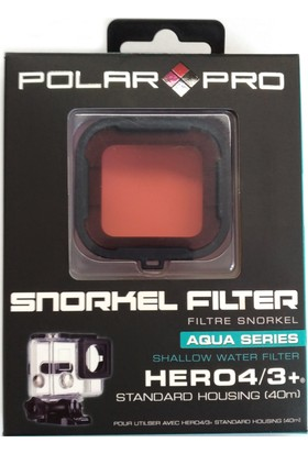 Polarpro Şnorkel Filtre Standard Housing 40Mt