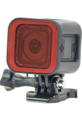 Polarpro Gopro Hero5/4 Session Red Snorkel Filter