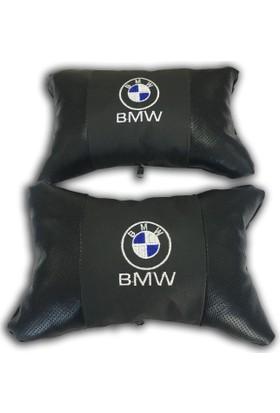 Günsan BMW Deri Boyun Yastığı Ortopedik Papyon Model 2'li