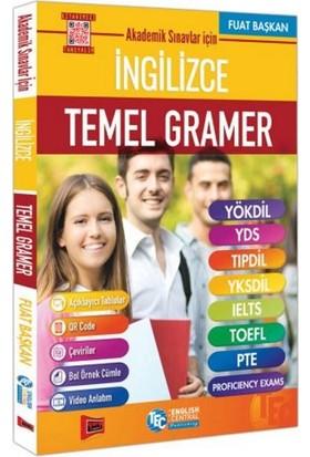 Yargı Yayınları Akademik Sınavlar İçin İngilizce Temel Gramer - Fuat Başkan