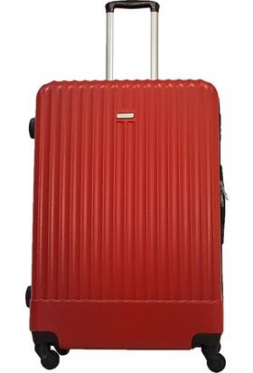 Karst Parigi Büyük Boy Valiz Kırmızı 1KR010502