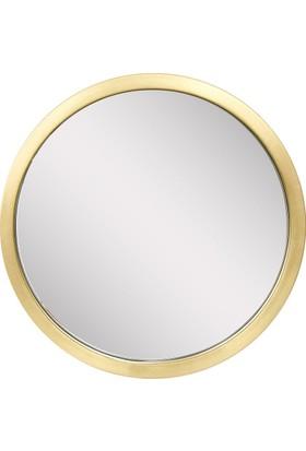 Altıncı Cadde Bronz Ayna 39Cm