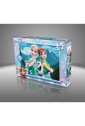 Disney Frozen Puzzle 100 Parça