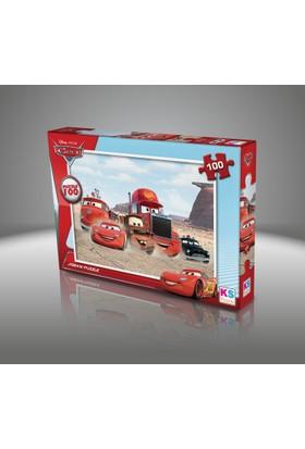 Disney Cars Puzzle (Yapboz) 100 Parça