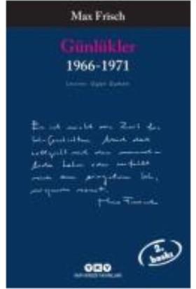 Günlükler 1966 - 1971