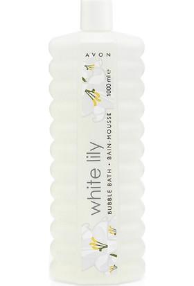Avon White Lily Zambak Banyo Köpüğü 1000 Ml.