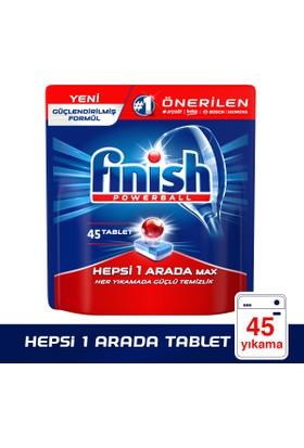 Finish Bulaşık Makinesi Deterjanı Hepsi Bir Arada Tablet 45'li