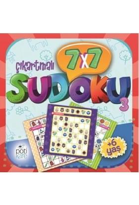 7 X 7 Çıkartmalı Sudoku (3)