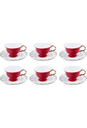 Pierre Cardin 6Lı Rosy Kahve Fincan Seti