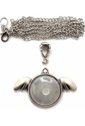İlbay Çini Takı Gümüş Kaplama Kolye Takı Aparatı 713