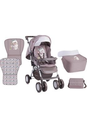 Lorelli Combi Çift Yönlü Bebek Arabası Beige Fashion Girl