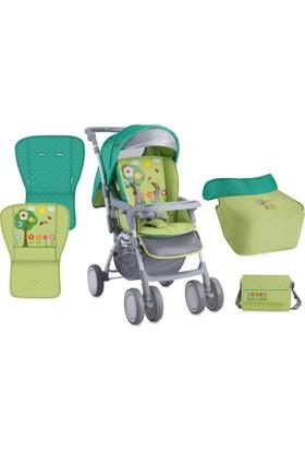 Lorelli Combi Çift Yönlü Bebek Arabası Green Garden