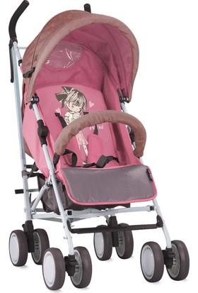 Lorelli İda Baston Bebek Arabası Beige & Pink Girl