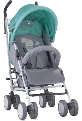Lorelli İda Baston Bebek Arabası Grey & Green Bunnies
