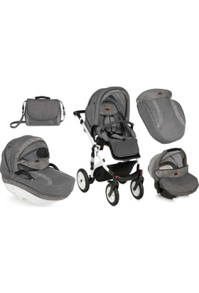 Lorelli Mia Travel Sistem Bebek Arabası Grey