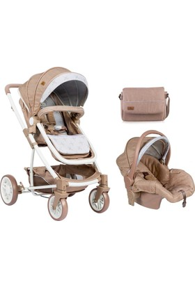 Lorelli S 500 Travel Sistem Bebek Arabası Beige Indian Bear