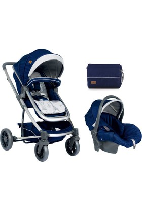 Lorelli S 500 Travel Sistem Bebek Arabası Blue Travelling