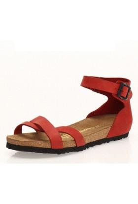 Comfortfüsse Milano Kırmızı Kadın Sandalet